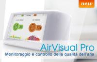 AirVisual Pro - Rilevatore di inquinamento