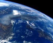 Smog Pianura Padana dallo spazio