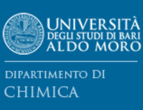 Università degli Studi di Bari Aldo Moro – Dipartimento di Chimica