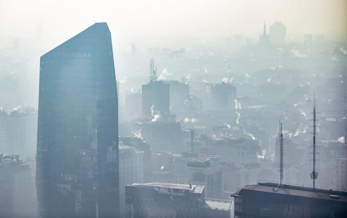 Relazione tra inquinamento e Covid-19